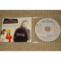 Sting The Emperor´s New Groove Cd Single Promo Brasil