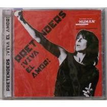 Cd Pretenders - Viva El Amor! (original) Capa Xerox Colorida