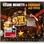 Cd César Menotti & Fabiano - Ao Vivo Voz Do Coração -