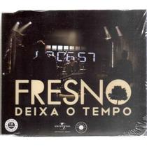 Fresno - Deixa O Tempo, - Cd Single Promo Novo Lacrado Raro!