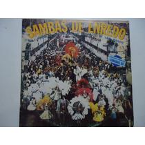 Disco Vinil Lp Sambas De Enredo Carnaval 89