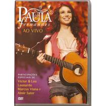 Dvd Paula Fernandes - Ao Vivo - Novo***