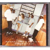 Cd-single-mariah Carey E Boyz Ii Men-one Sweet Day-2 Versões