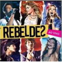 Cd Rebeldes Ao Vivo Novela Record Original Lacrado