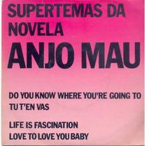 Disco Compacto De Vinil - Supertemas Novela Anjo Mau - 1976