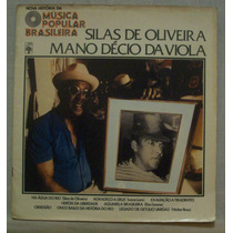 Lp Nova História Da Mpb - Silas De Oliveira - Mano Décio Da