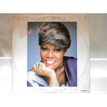 Dionne Warwick With Love Lp Vinil Disco Som Livre 1982