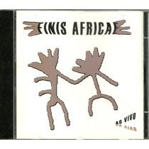 Cd Finis Africae - 2002 - Ao Vivo - Semi-novo