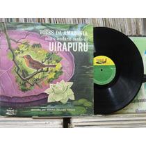 Lp - Johan Dalgas Frisch - Vozes Amazônia Canto Do Uirapurú