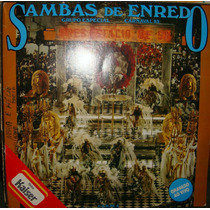 Vinil Duplo Sambas De Enredo Carnaval 89