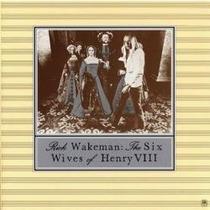Lp Rick Wakeman The Six Wives Of Henry Viii Capa Dupla