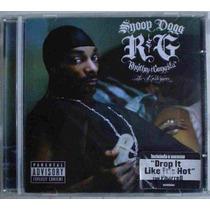 Cd Snoop Dogg - Rhythm & Gangsta - The Masterpiece