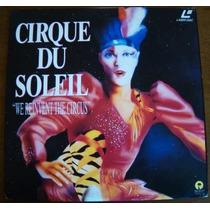Ld Cirque Du Soleil Raro Laserdisc Estado De Novo Vejam Foto