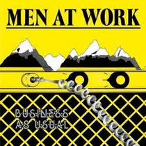 Lp - Men At Work - Business As Usual