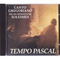 Cd Canto Gregoriano - Tempo Pascal - Raro