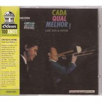 Cd Luiz Eça & Astor - Cada Qual Melhor - Odeon 100 Anos