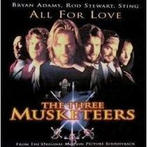Cd Bryan Adams Sting Stewart - All For Love ( Single ) A&m