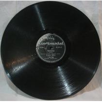 Disco 78 Rpm - Continental 15.415 - Osvaldo Sival