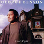 Cd George Benson - That S Right - Import Frete Gratis