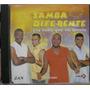 Cd Samba Diferente - Frete Gratis