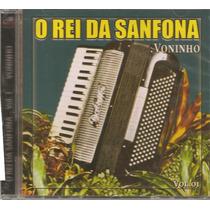 Cd - Novo - Gaúcho - O Rei Da Sanfona - Volinho Vol. 1