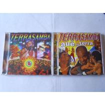 Terrasamba - Cds - Ao Vivo E Auê Do Terra - Ótimo Preço!!!!