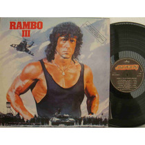 Rambo 3 Lp Nacional Usado Trilha Do Filme 1988 Jerry Goldsmi