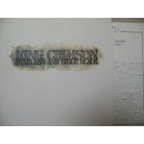 King Crimson. Starless And The Bible Black. Vinil Imp. Japan