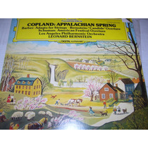 Lp Copland : Appalachian Spring Frete 24,00 R$