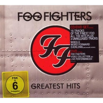 Cd/dvd Foo Fighters Greatest Hits [eua] Novo Lacrado