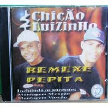 Dance Black Pop Cd Funk Mc Chicão E Luizinho Remexe Pepita