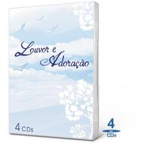 Box Louvor E Adoração - 4 Cds - Som Livre-rose Nascimento