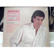 Fernando Mendes Sucessos De Ouro / Lp Vinil Disco Emi 1989