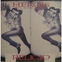 Heróis Da Resistência Lp Religio - Encarte 1988
