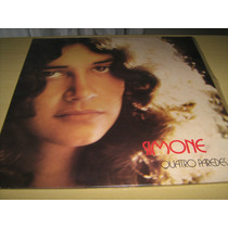 Lp Vinil Simone : Quatro Paredes - Disco Original Novo!!!