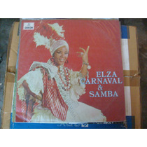 Elza Carnaval E Samba - Elza Soares Lp Vinil 1969 Selo Odeon