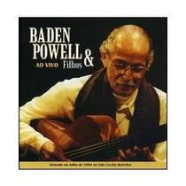 Cd Baden Powell & Filhos - Ao Vivo - Novo***