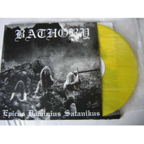 Bathory Raro Lp Burzum Mayhem Black Sabbath Motorhead Slayer