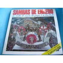 Lp Zerado Sambas Enredo Escolas Grupo 1 Sao Paulo 88 Encarte