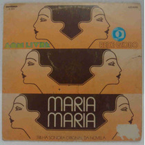 Maria Maria Compacto De Vinil Trilha Sonora Da Novela 1978