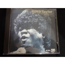 Cd Koko Taylor ¿ Love You Like A Woman = Maestro Do Blues
