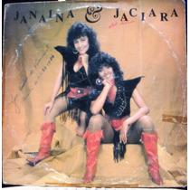 Lp - Janaina & Jaciara - Paixão Danada - Som De Cristal 1989