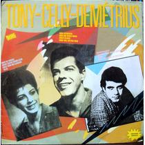 Lp Vinil - Tony, Celly, Demétrius - 1989