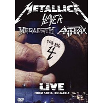 Dvd Metallica/ Slayer/ Megadeth/ Anthrax Big Four[eua] Duplo