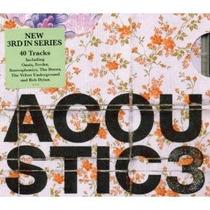 Acoustic 3 Oasis Nickelback Bob Dylan Leonard Cohen Cd Duplo