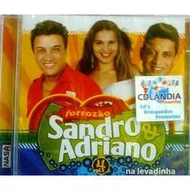 Cd Sandro & Adriano - Na Levadinha - Vol 4-lacrado-cdlandia