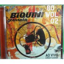 Cd Biquini Cavadão 80 Vol 2 Ao Vivo Lacrado Fabrica