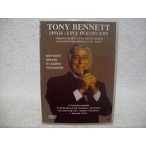 Dvd Original Tony Bennett- Sings- Live In Concert- Lacrado