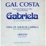Gal Costa Vinil Compacto - Tema Do Filme Gabriela
