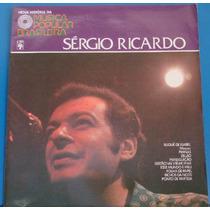 Lp -nova História Música P. Brasileira -sérgio Ricardo